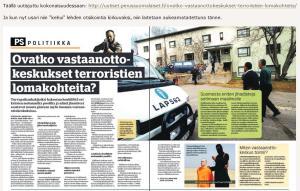 Turkkila hyväksyttää  Suomen Uutisten aukeaman  Hommaforum