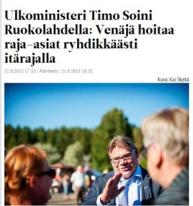Timo Soini itäraja