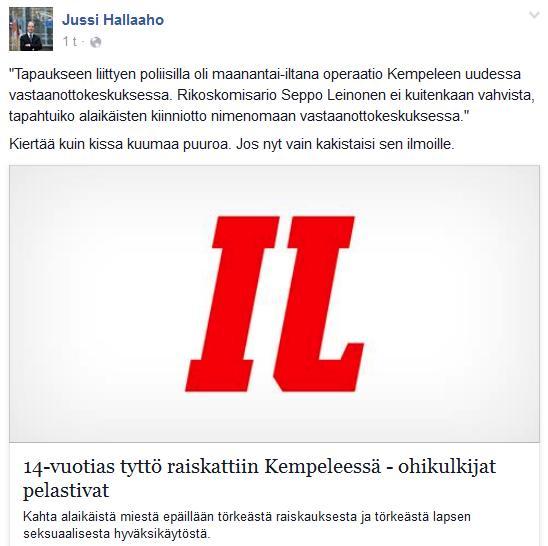 Raiskaus Halla-aho 2