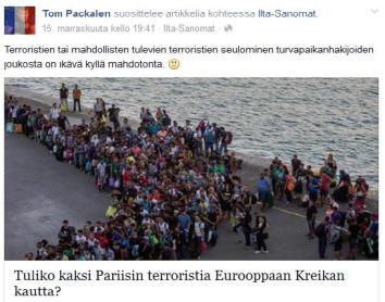 Terroristit Tom Packalen