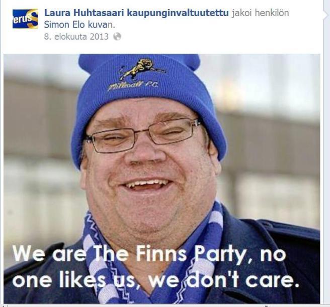 Laura Huhtasaari Facebook3