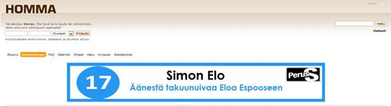 Simon Elo takuunuiva