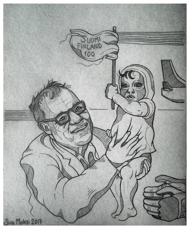 Sira Moksi Sipilä lähettää lapsen
